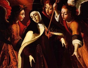 Josefa de Obidos - Transverberation of Saint Teresa